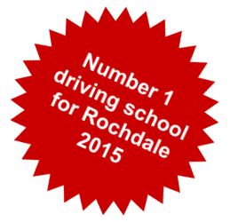 Number 1 driving school Rochdale 2015